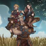 Dragon Age: Inquisition Железный Бык и эльфы )