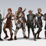 Dragon Age 2 Главные персонажи