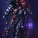 Mass Effect 3 Джейн и Кай культурно беседуют )