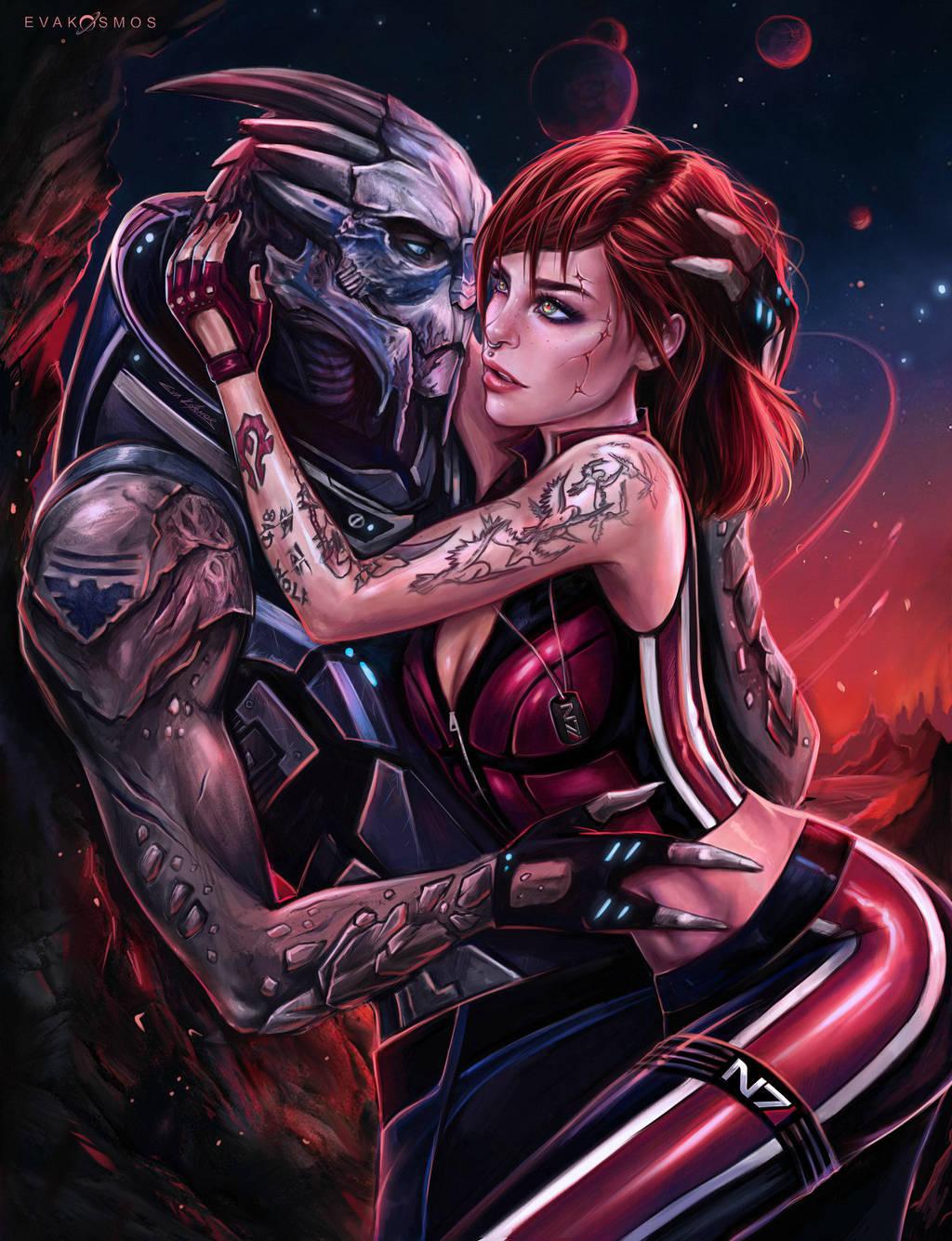 Сладкая парочка ) - Mass Effect 3