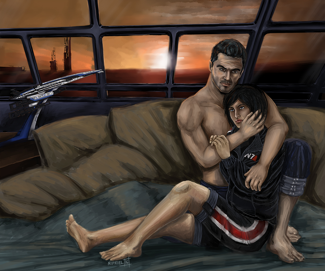 Кайден и Джейн - Mass Effect 3