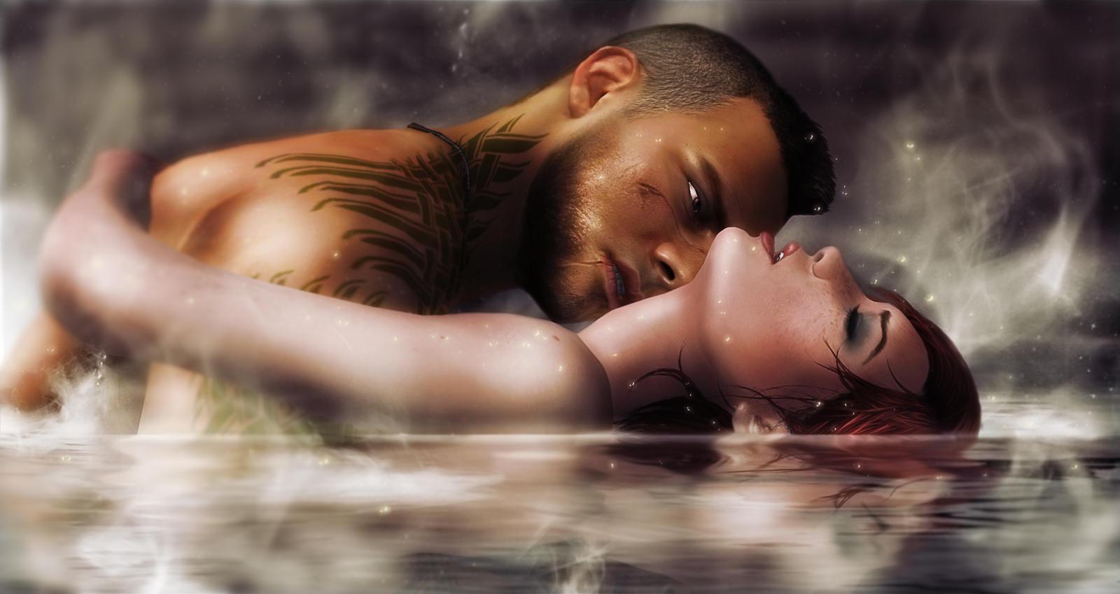Джейн и Вега. Флирт ) - Mass Effect 3