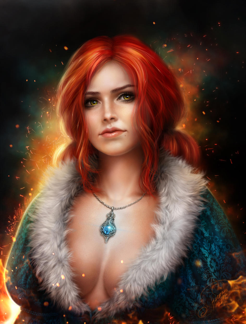 Трисс Меригольд - Witcher 3: Wild Hunt, the