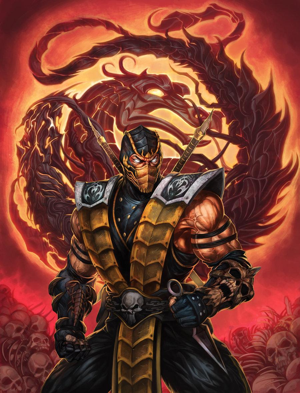 85832.jpg - Mortal Kombat 11 скорпион