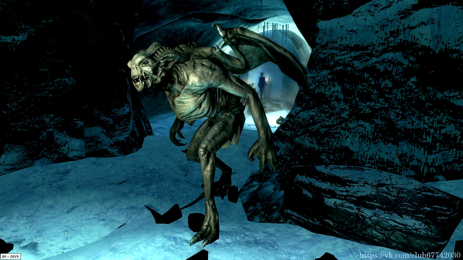 Гаргулья-страж. - Elder Scrolls 5: Skyrim, the Гаргулья, Кровавый трон
