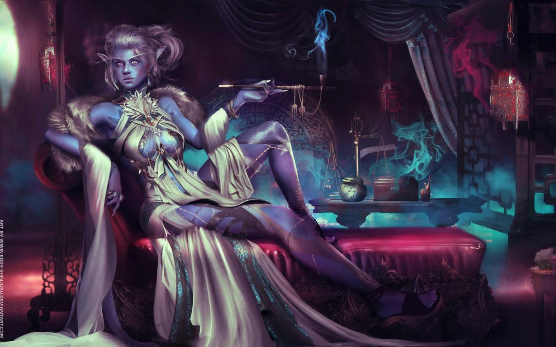 high_courtesan_priestess___warcraft_commission_by_eddy_shinjuku_dd6e1ww-pre.jpg - World of Warcraft
