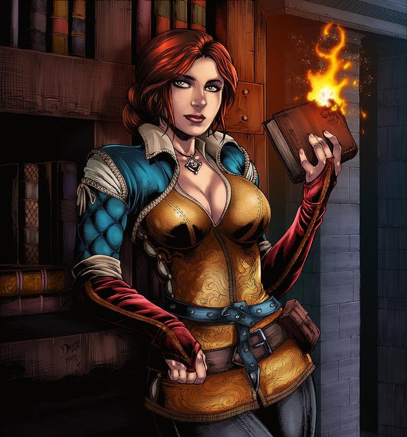 Трисс-Меригольд-Witcher-Персонажи-The-Witcher-фэндомы-5192049.jpeg - Witcher 3: Wild Hunt, the