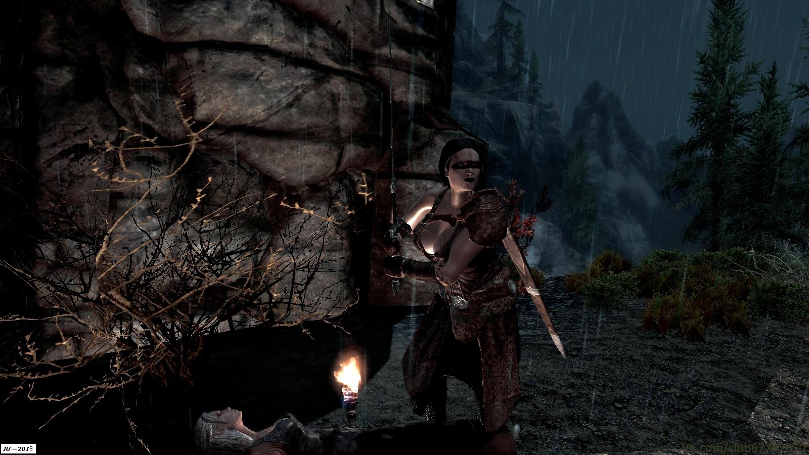 """Из серии """"Разбойники Скайрима"""" ... - Elder Scrolls 5: Skyrim, the разбойник"""
