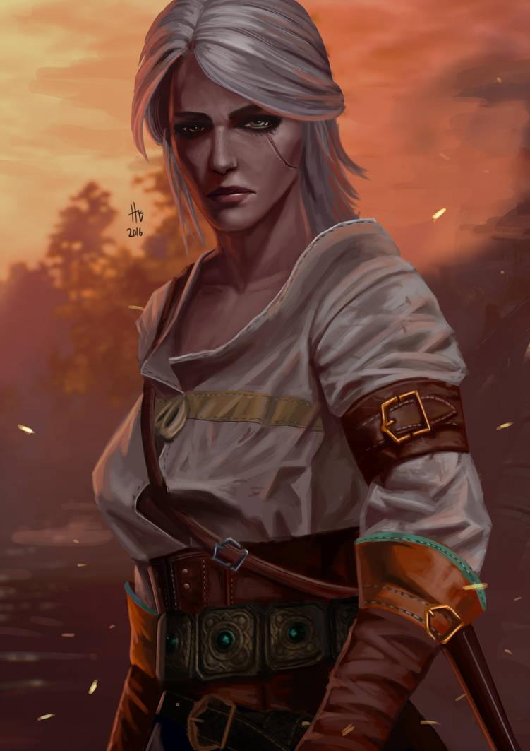cirilla_fiona_elen_riannon__ciri__by_feihai_da9ytw0-pre.jpg - Witcher 3: Wild Hunt, the