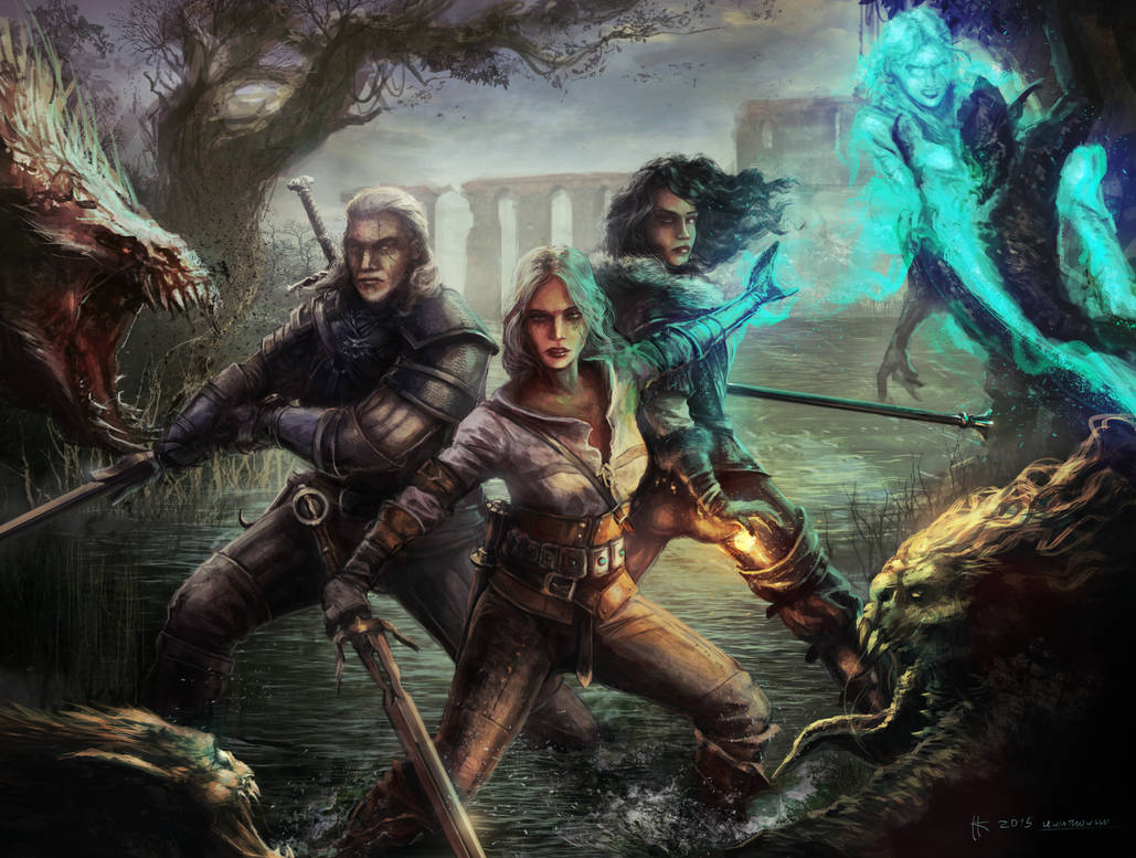finally_united_by_thylacinee_d8uuxro-pre.jpg - Witcher 3: Wild Hunt, the
