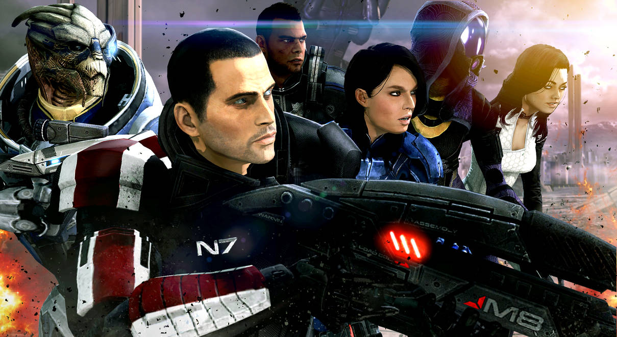 shepard_s_loyal_companions_by_lordhayabusa357_d7cywlu-pre.jpg - Mass Effect 3
