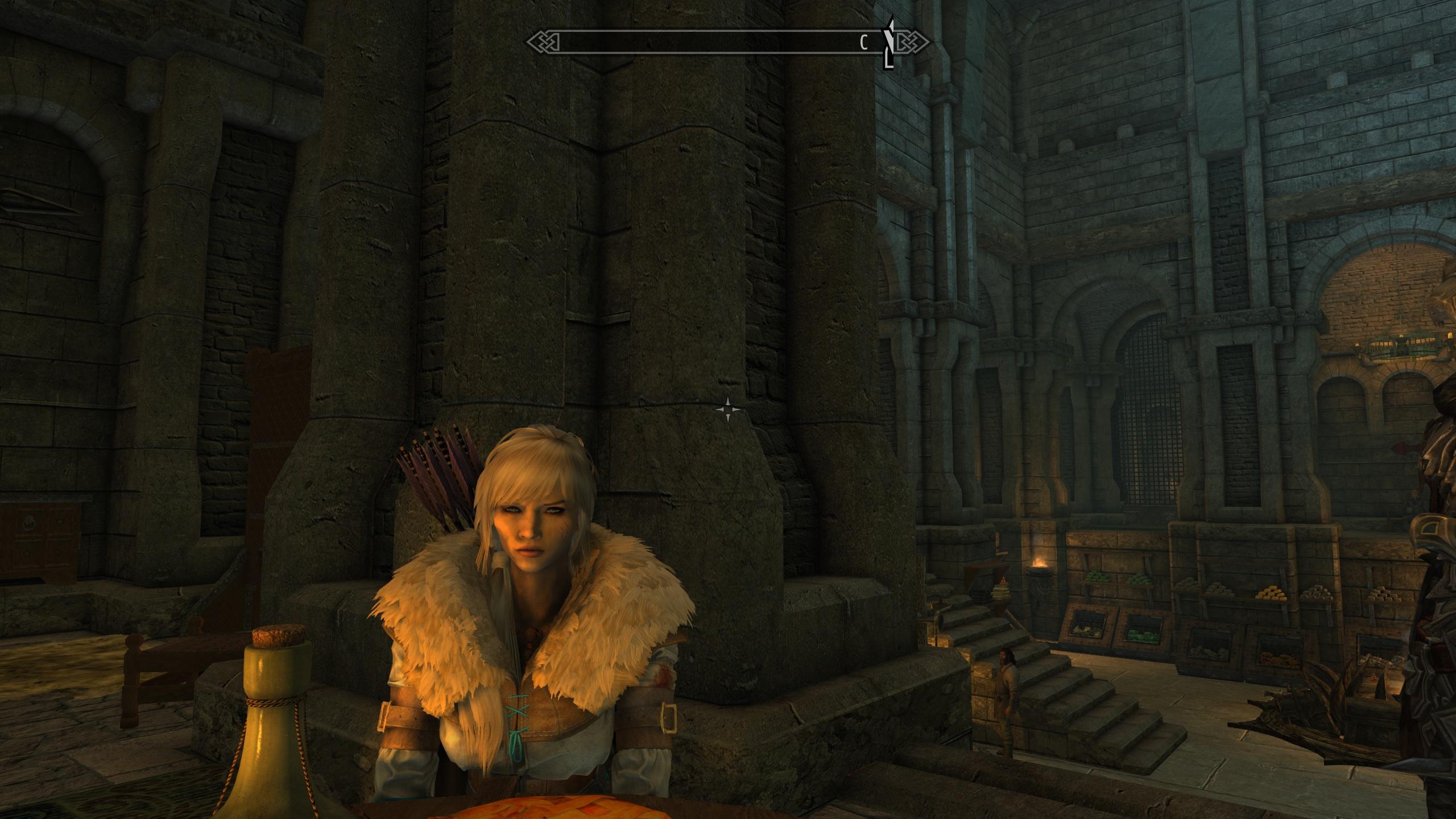 красивый персонаж в Skyrim - Elder Scrolls 5: Skyrim, the
