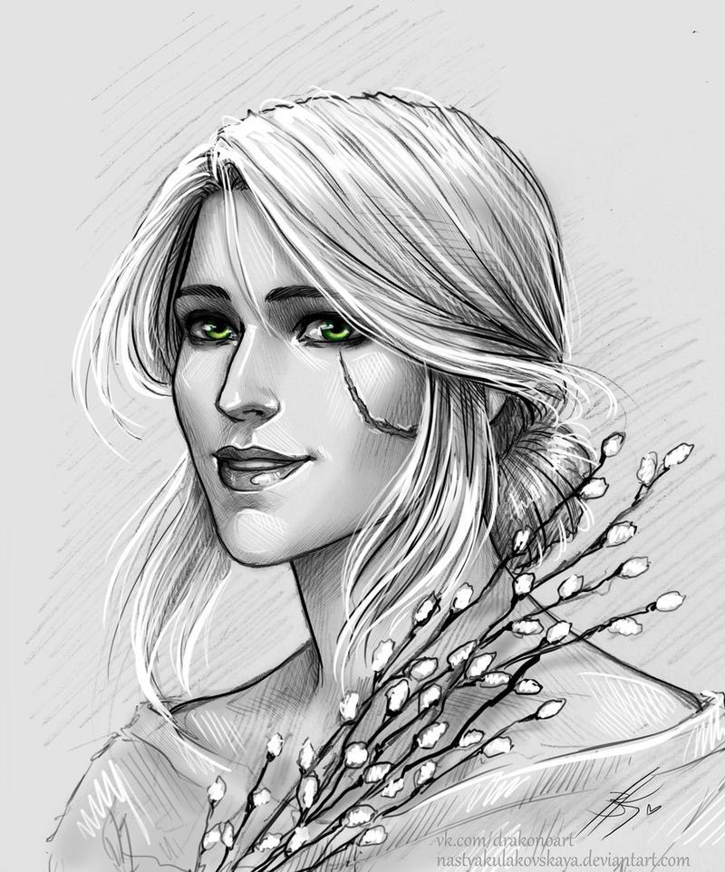 ciri_by_nastyaskaya_dc88zz0-fullview.jpg - Witcher 3: Wild Hunt, the