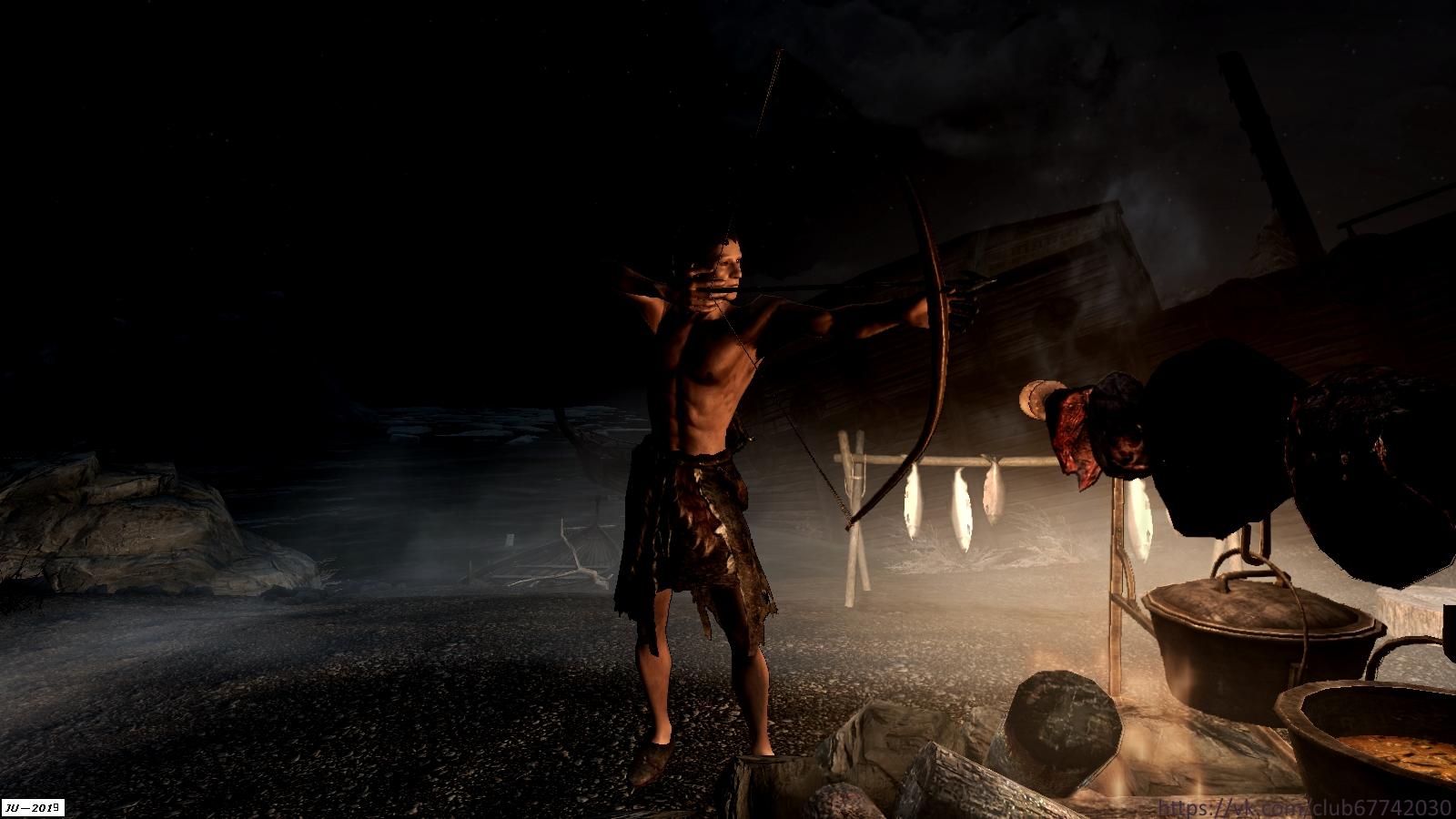 """Из серии """"Разбойники Скайрима"""". - Elder Scrolls 5: Skyrim, the лучник, разбойник"""