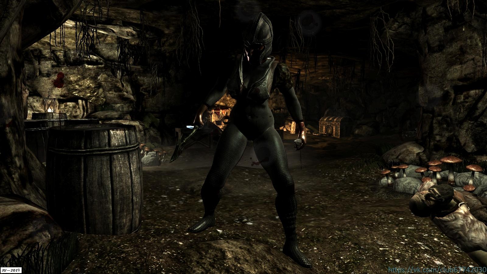 """Из серии """"Разбойники Скайрима"""". - Elder Scrolls 5: Skyrim, the Гловарь"""