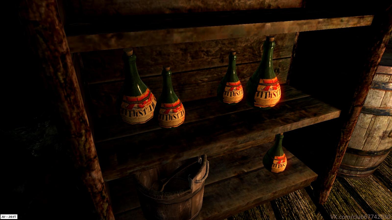 Мод MiksTura - Elder Scrolls 5: Skyrim, the микстура зачарователя, факельная шахта