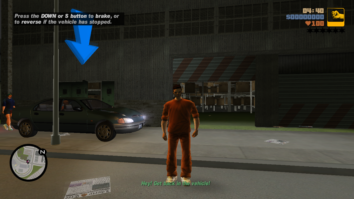 Склад в Портленде - Grand Theft Auto 3