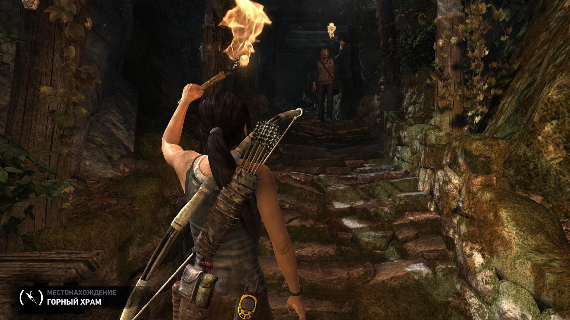 Прохождение (сопутствующие сюжету скриншоты) - Tomb Raider (2013)