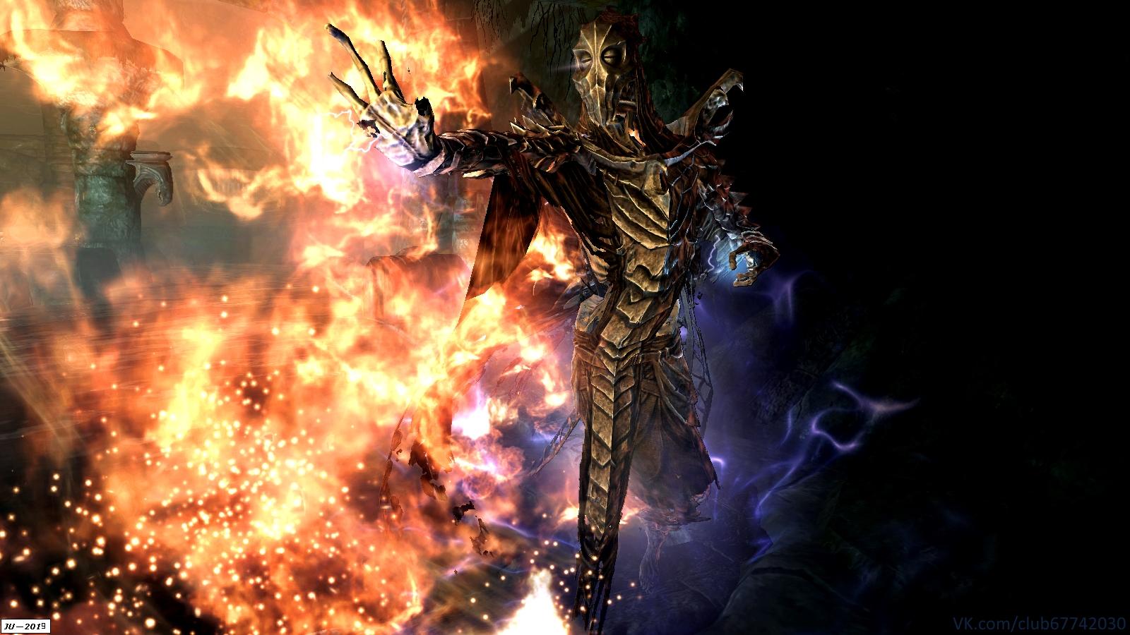 Закрисош из кургана Бладскал. - Elder Scrolls 5: Skyrim, the Закрисош