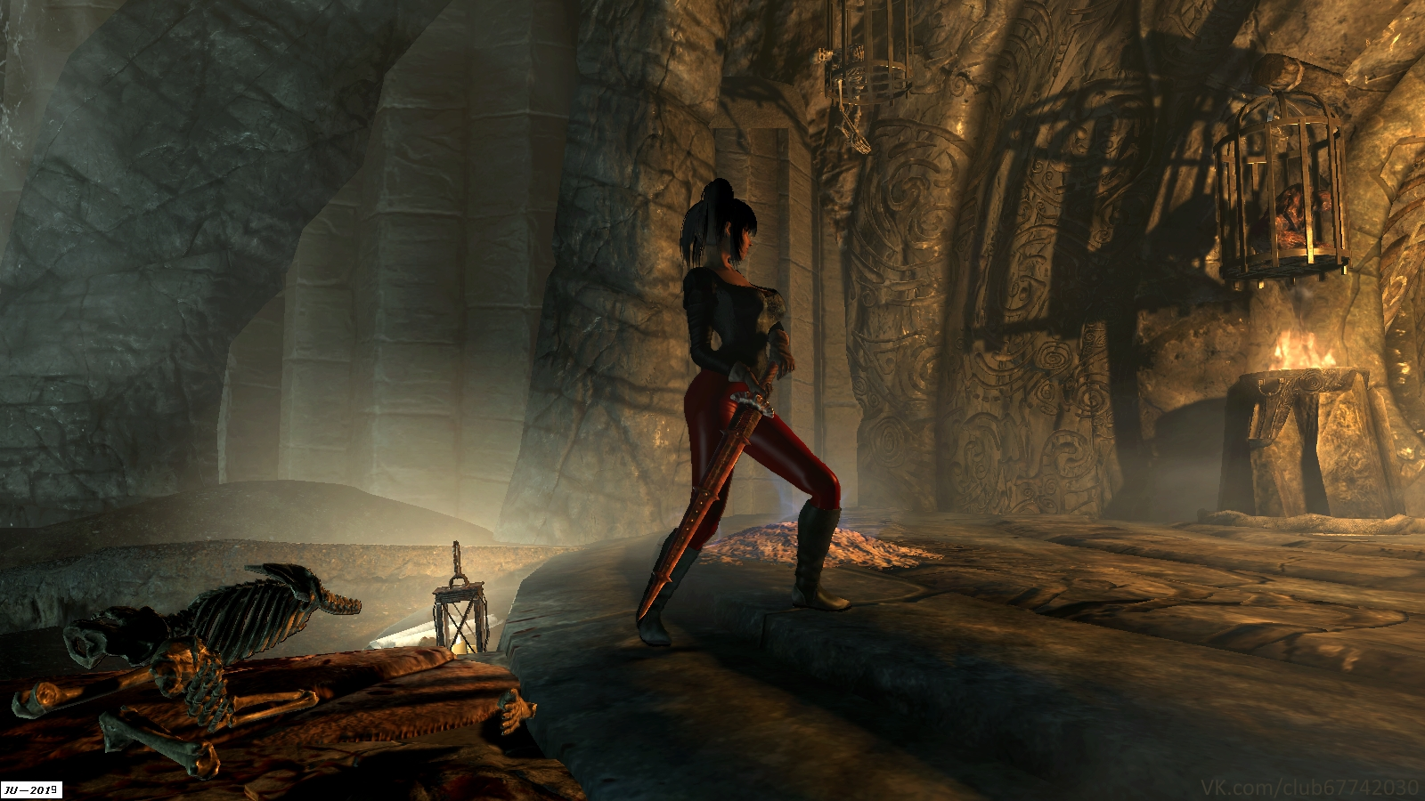 Курган Бладскал. - Elder Scrolls 5: Skyrim, the Солстейм
