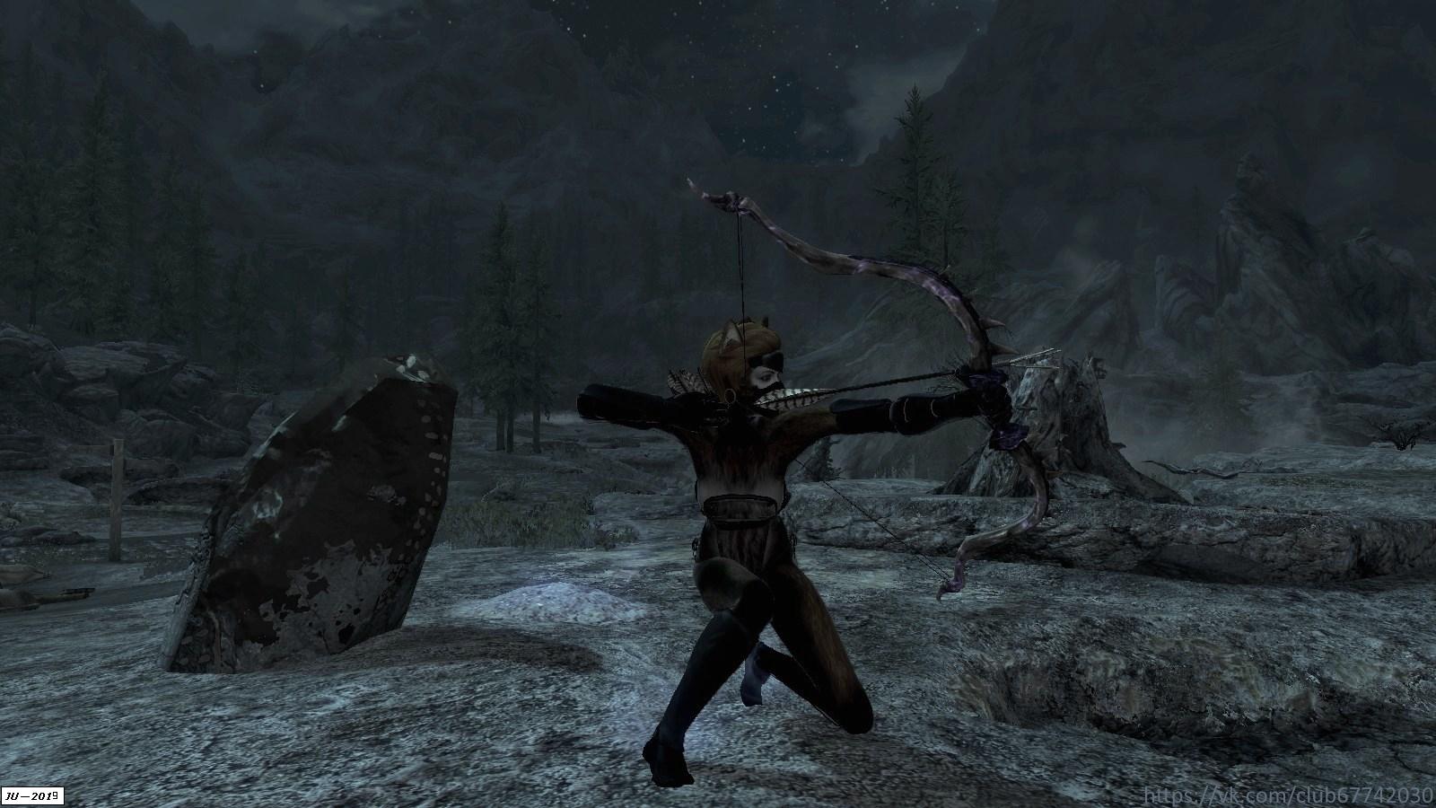 Раса Kitsune - Elder Scrolls 5: Skyrim, the KitsuneRace