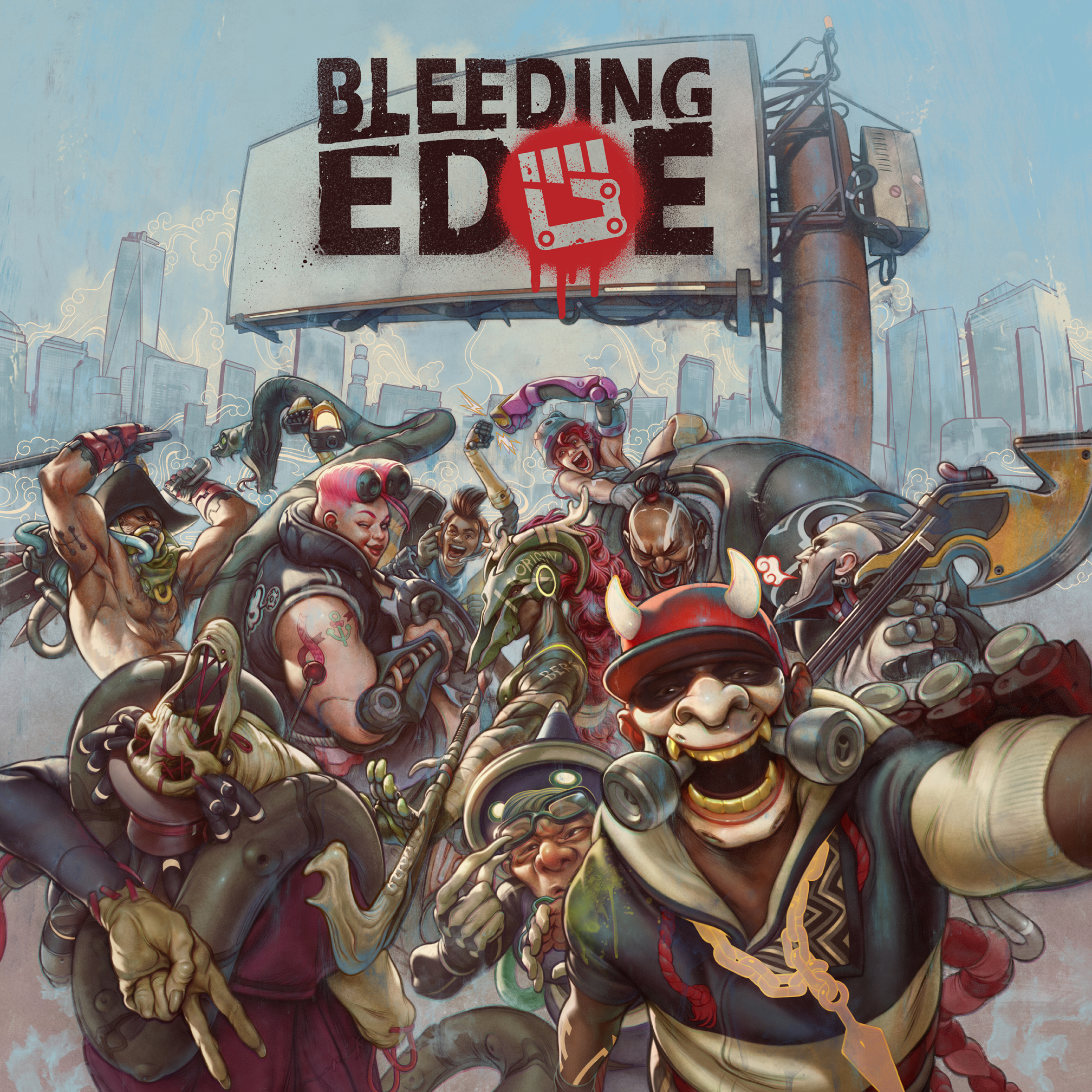 Арт - Bleeding Edge