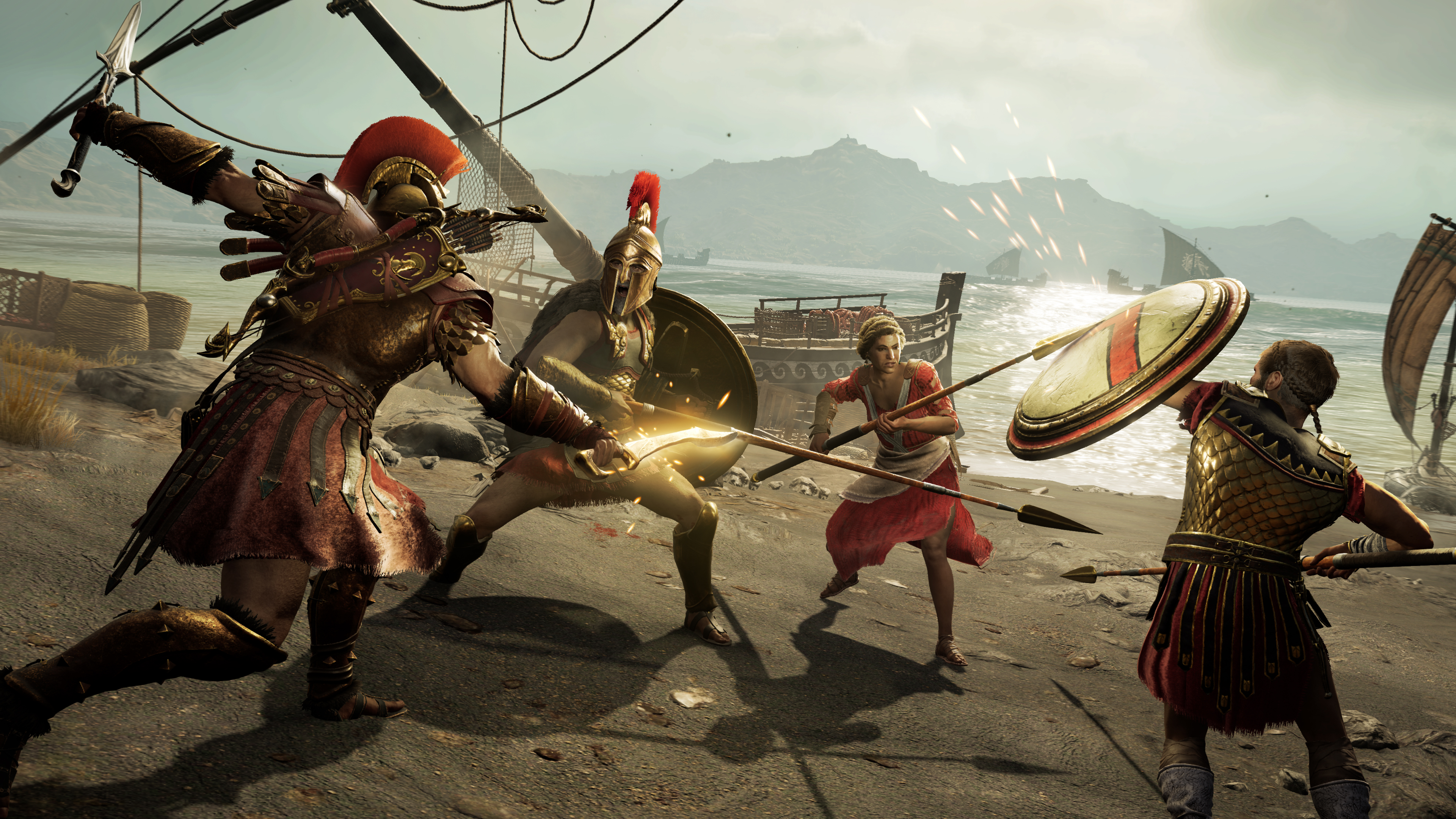 assassins creed odyssey free - HD 3840×2160