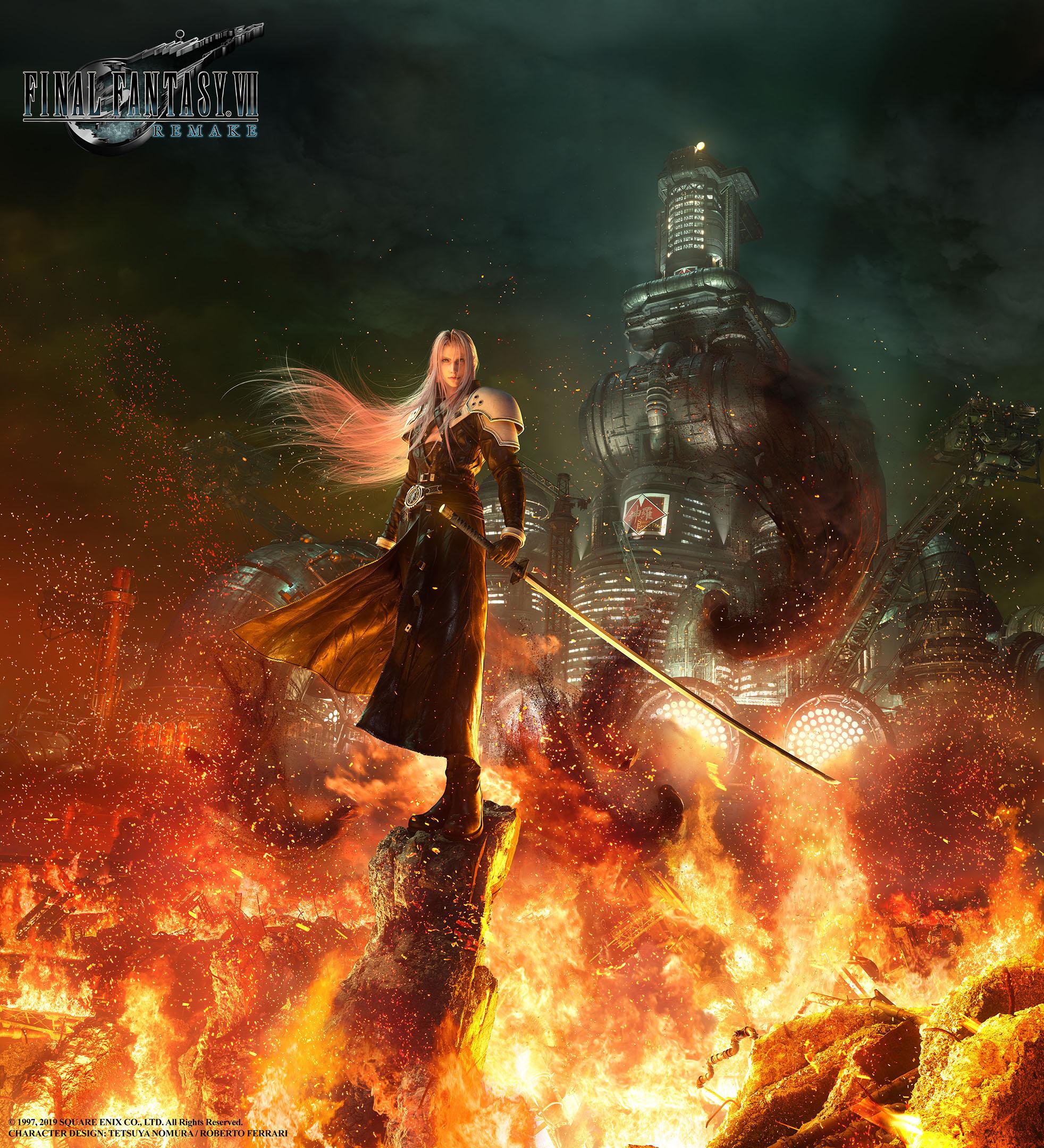 Арт - Final Fantasy 7