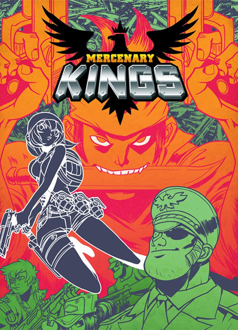 Обложка - Mercenary Kings