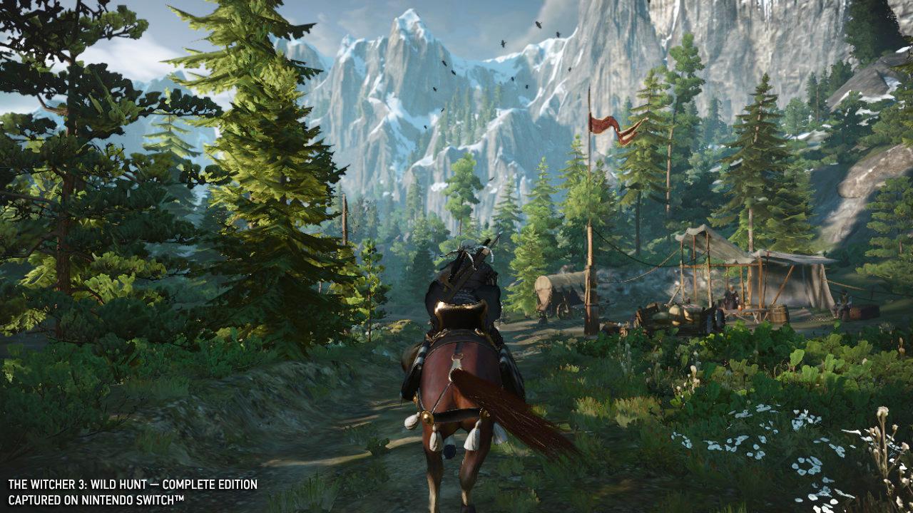 Switch-версия - Witcher 3: Wild Hunt, the