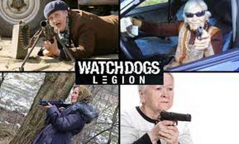 battle grandmothers - Watch Dogs: Legion
