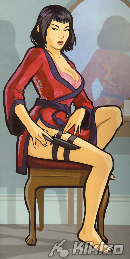Ling (3).jpg - Grand Theft Auto: Chinatown Wars Арт