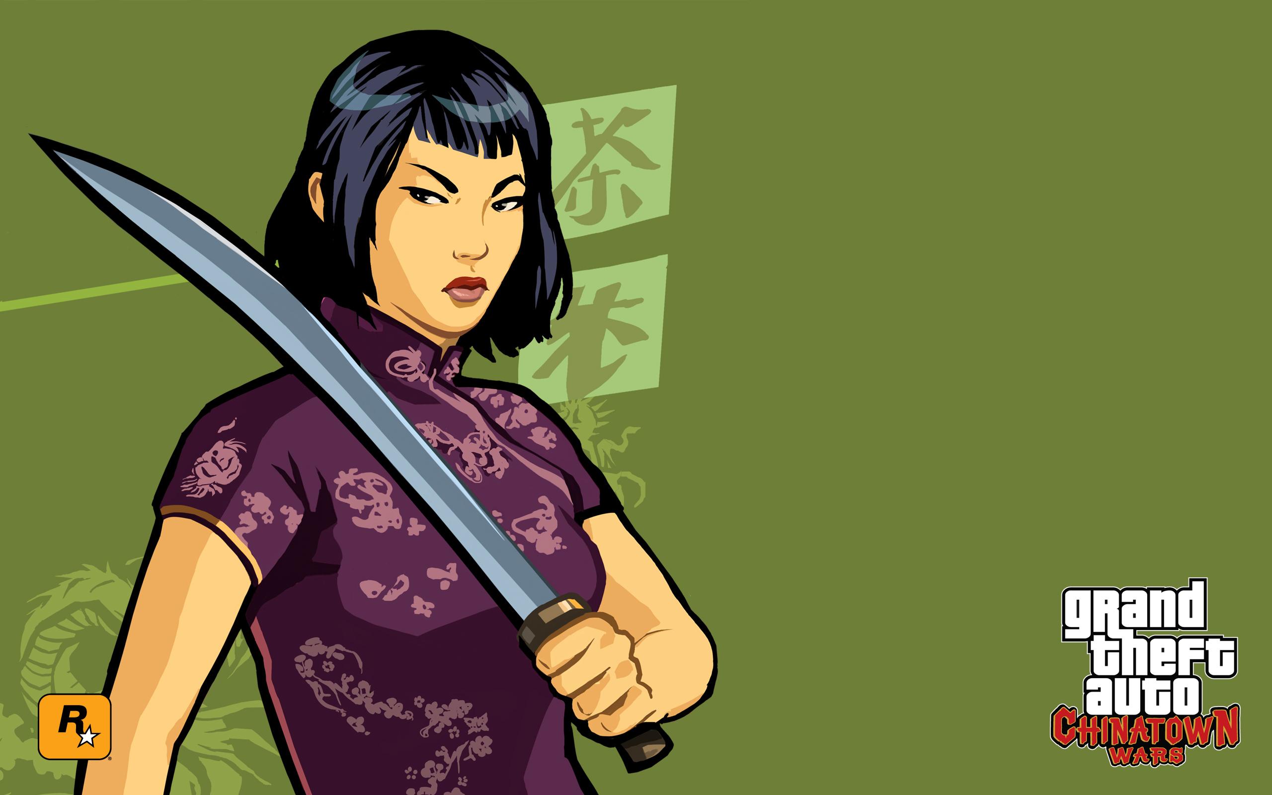 Ling.jpg - Grand Theft Auto: Chinatown Wars Арт