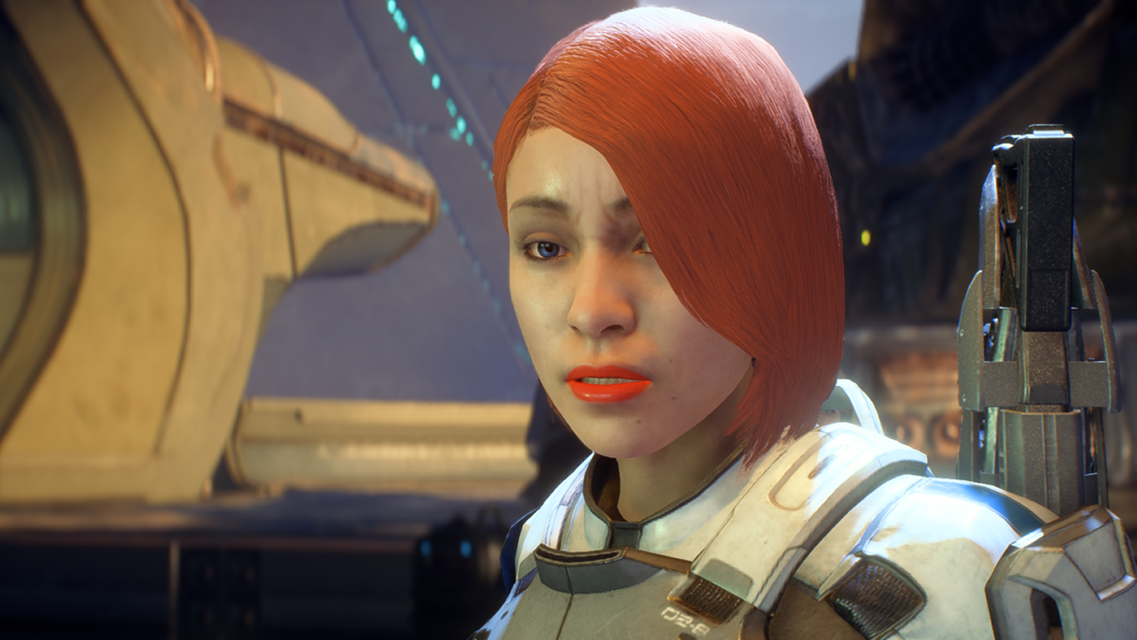 Mass Effect: Andromeda скриншот с NVIDIA Ansel - Mass Effect: Andromeda