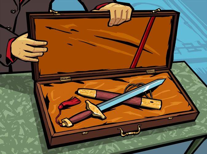 Yu Jian Sword.jpg - Grand Theft Auto: Chinatown Wars Арт