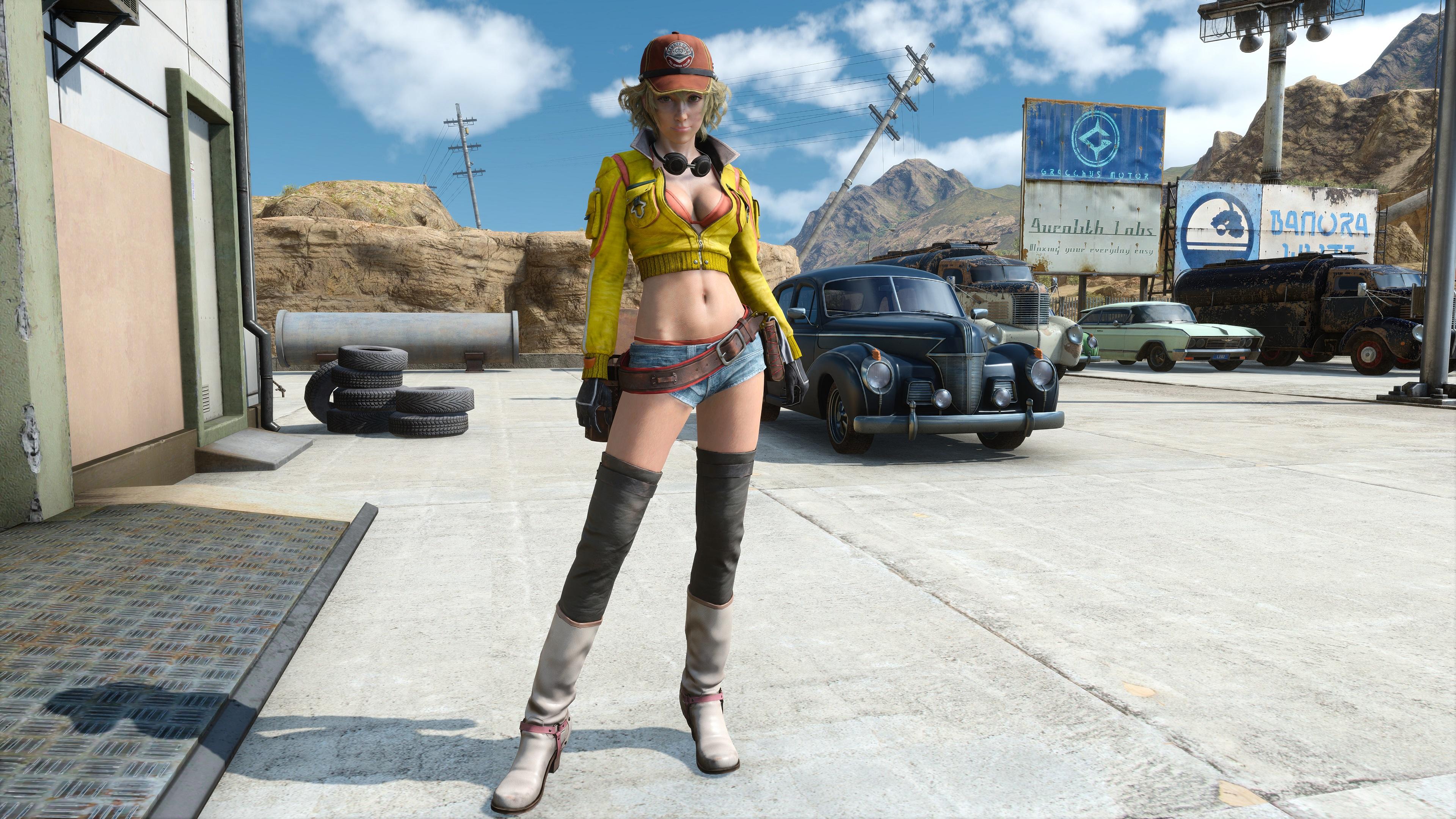 Final Fantasy 15 Windows Edition скриншот с GeForce RTX 2080 - Final Fantasy 15