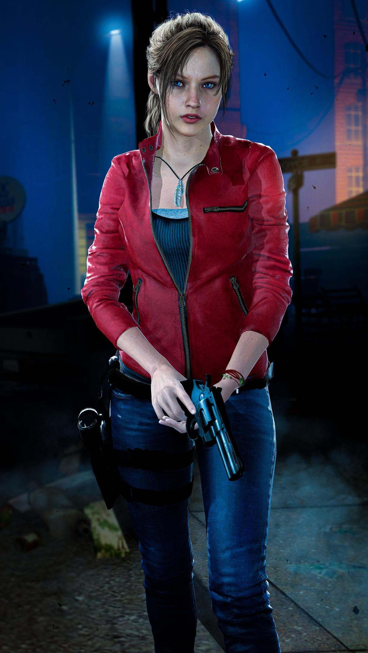 GDQljZeA-iI.jpg - Resident Evil 2 Клэр Редфилд