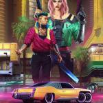 Cyberpunk 2077 Постер [Высокое разрешение]