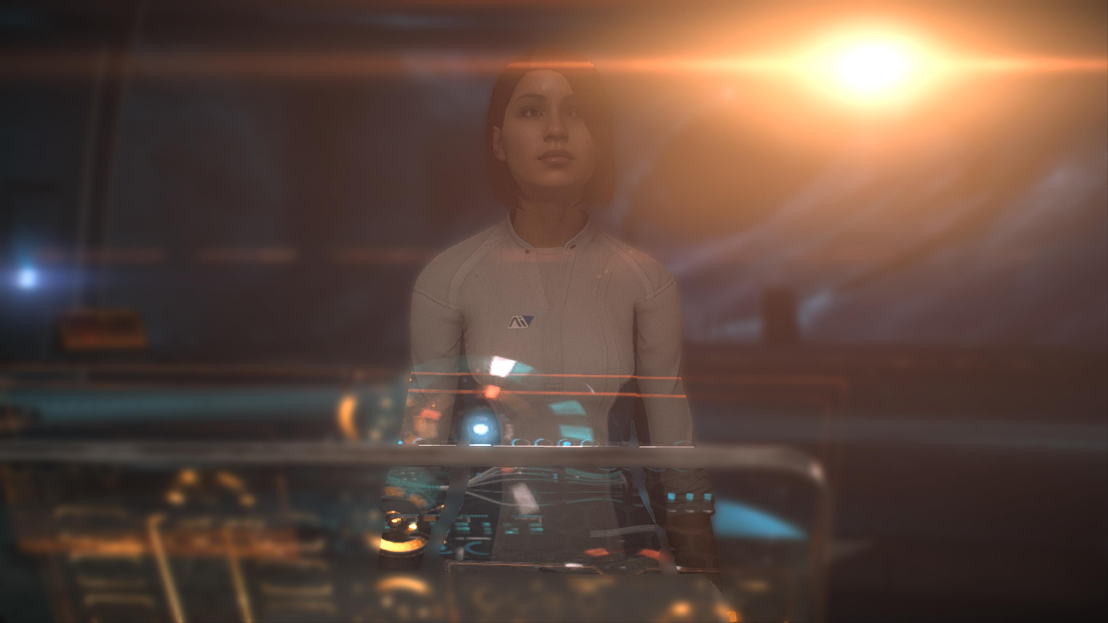 Mass Effect: Andromeda скриншот с Xbox One X - Mass Effect: Andromeda