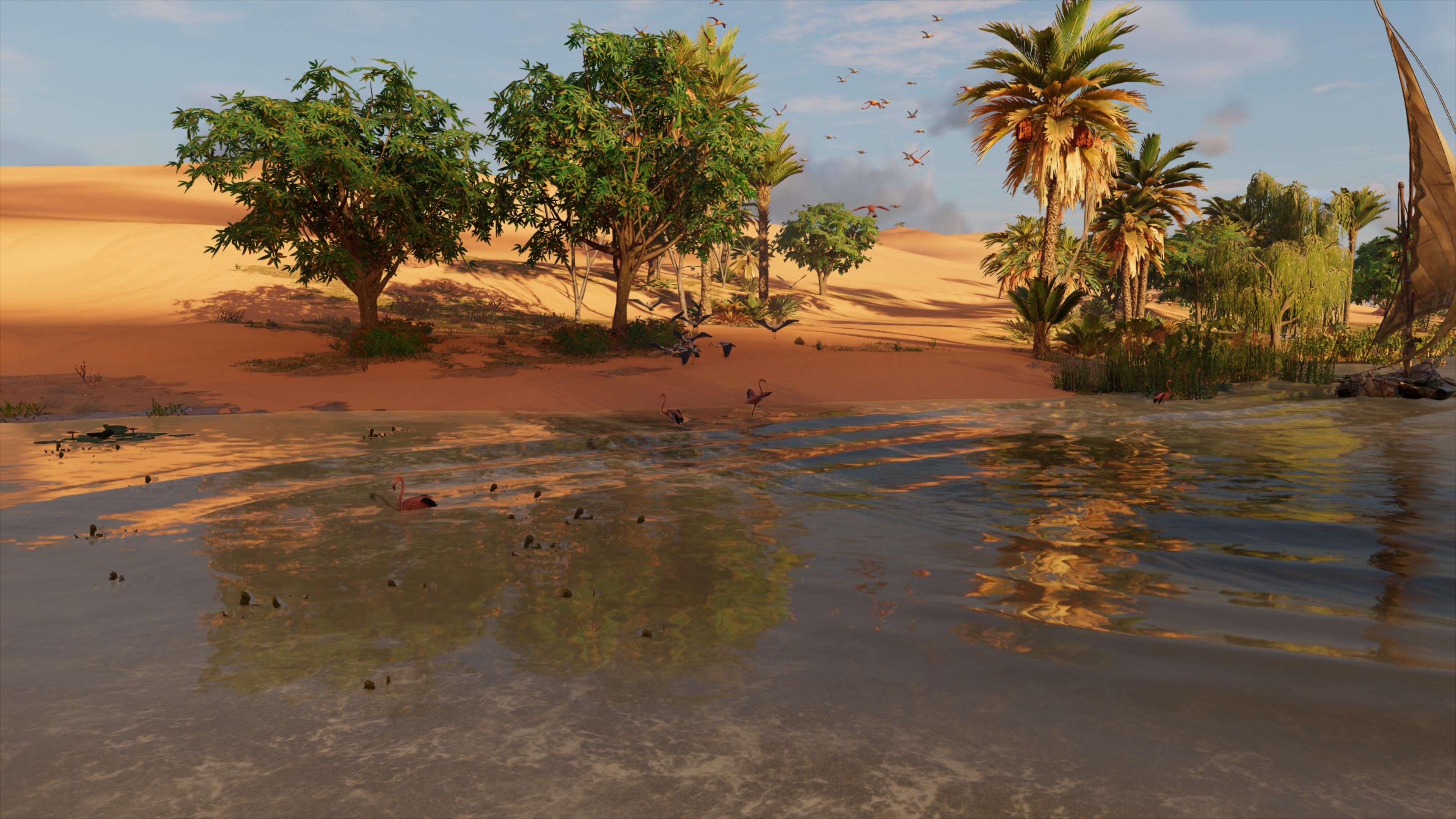 Assassin's Creed: Origins скриншот с GeForce RTX 2080 - Assassin's Creed: Origins
