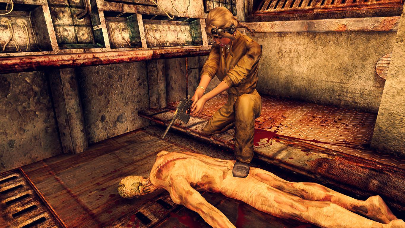 Тоннели метро. - Fallout 3