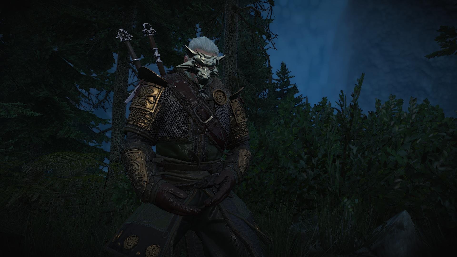 Геральт медитирует - Witcher 3: Wild Hunt, the