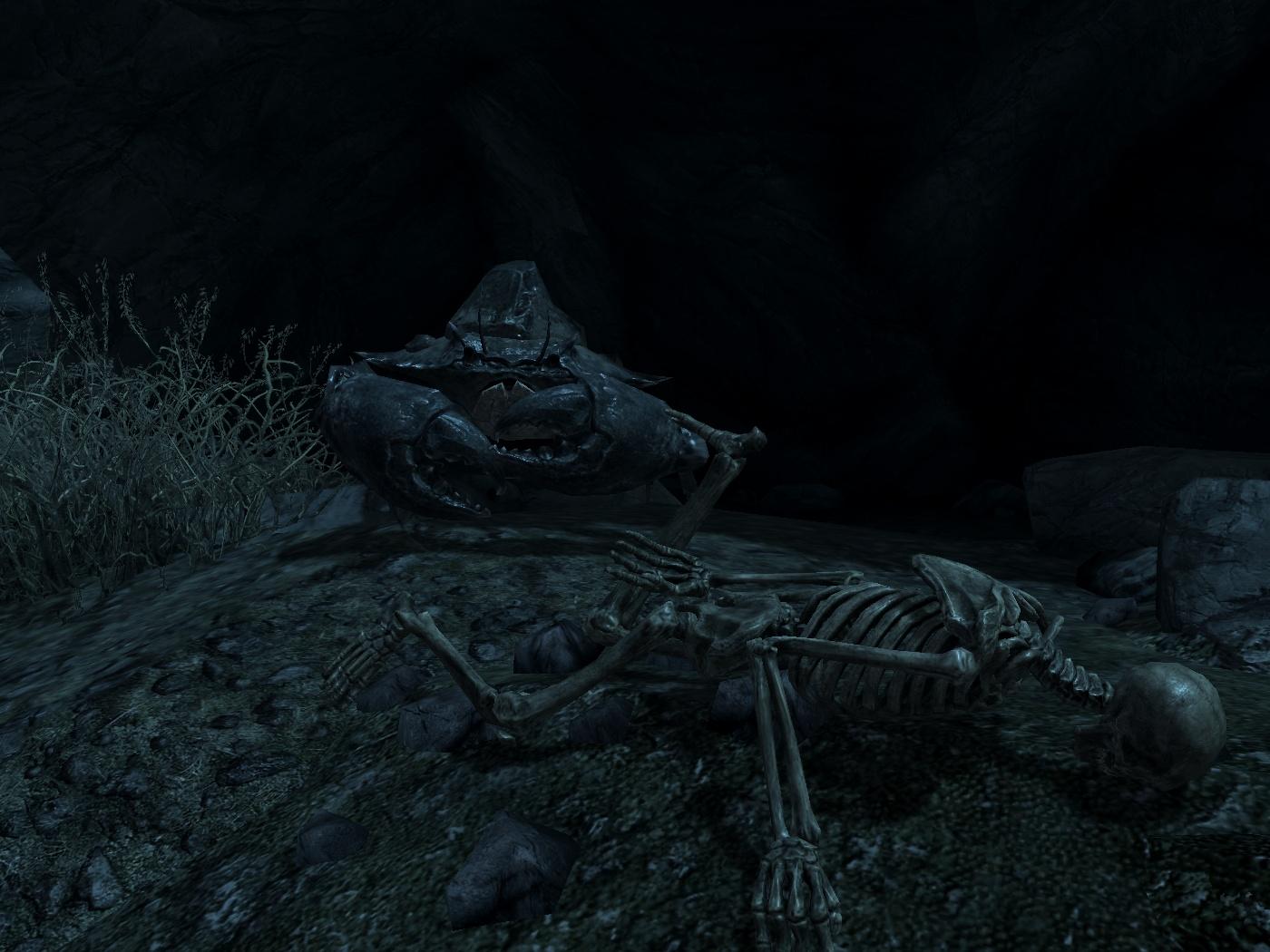 "Краб-монах, мастер школы ""Падающего кирпича"" - Elder Scrolls 5: Skyrim, the"