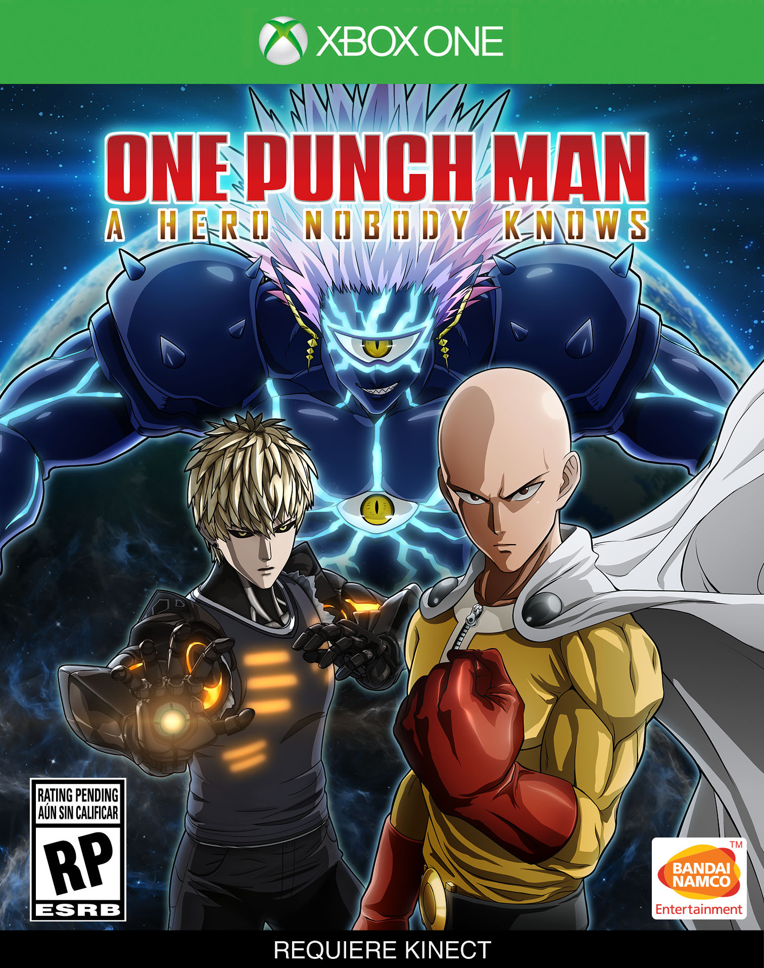 Бокс-арт (Xbox One) - One Punch Man: A Hero Nobody Knows
