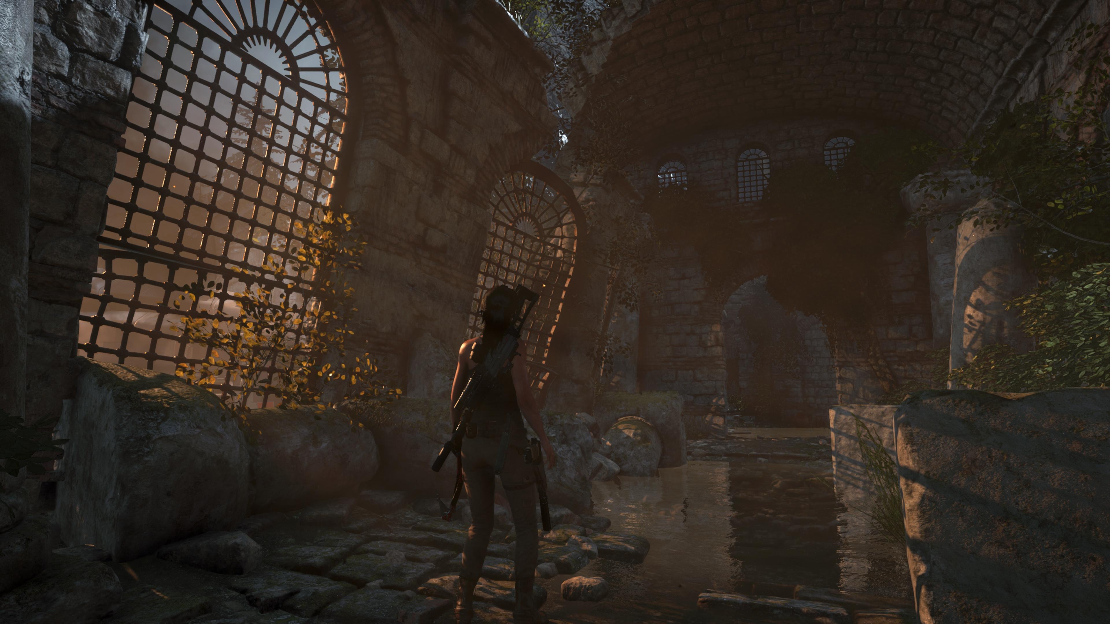 Rise of the Tomb Raider криншот с NVIDIA Ansel - Rise of the Tomb Raider Лара Крофт