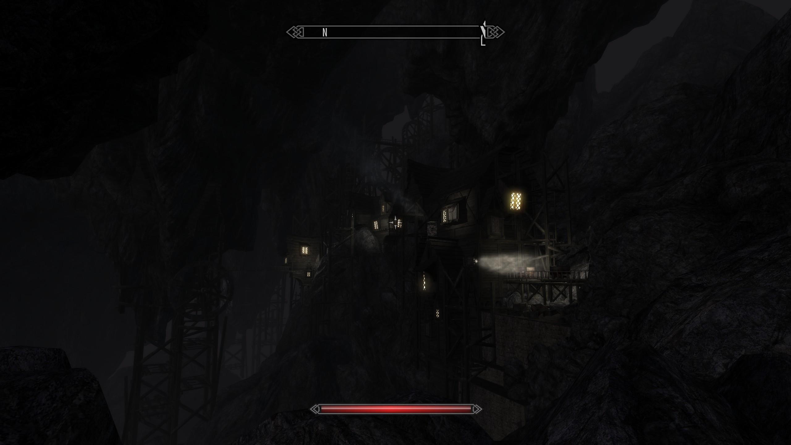 Казалось бы просто пещеры под городом. А как проработано! - Elder Scrolls 5: Skyrim, the