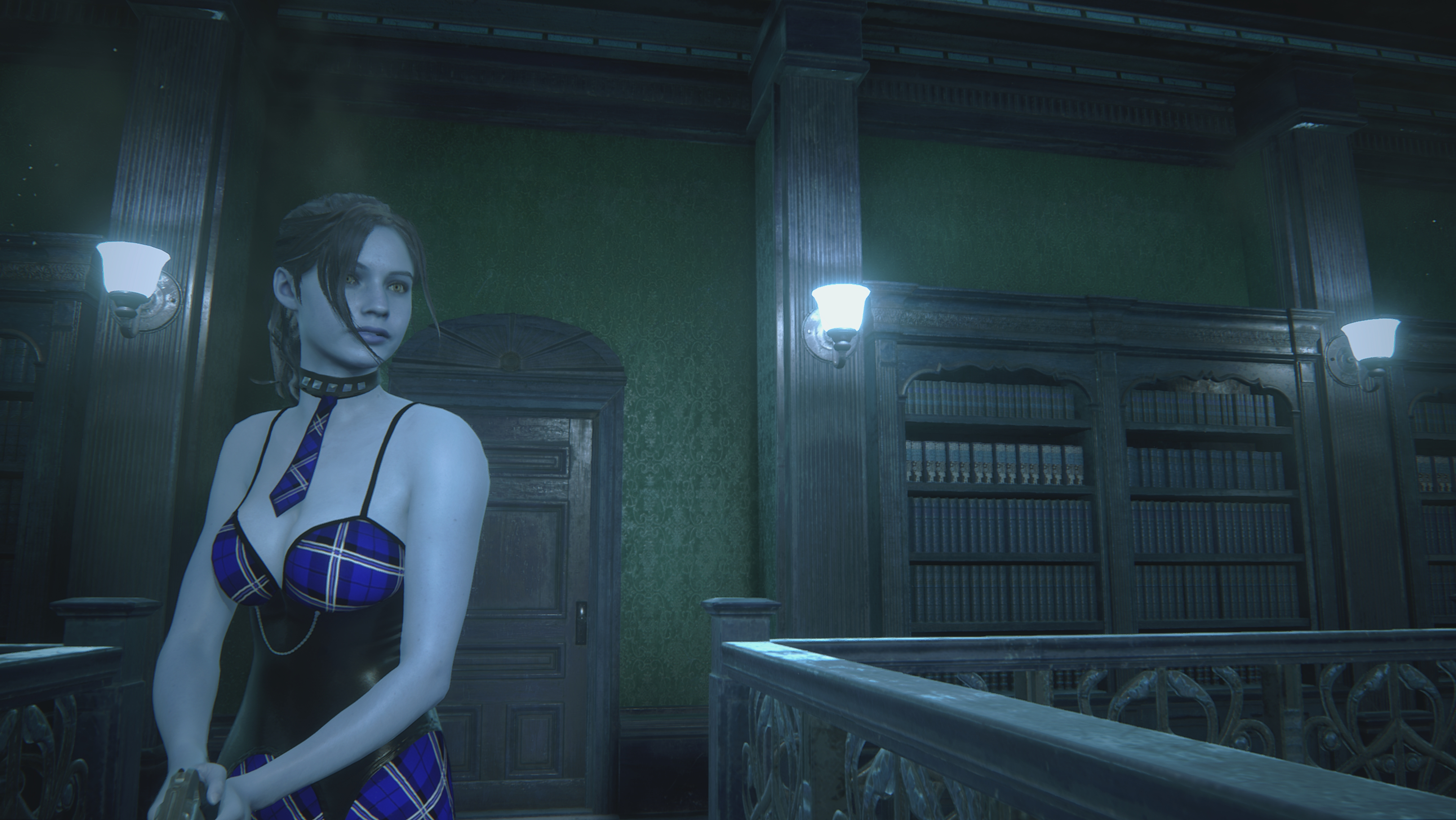 RESIDENT EVIL 2 / BIOHAZARD RE:2 Claire College girl mod - Resident Evil 2