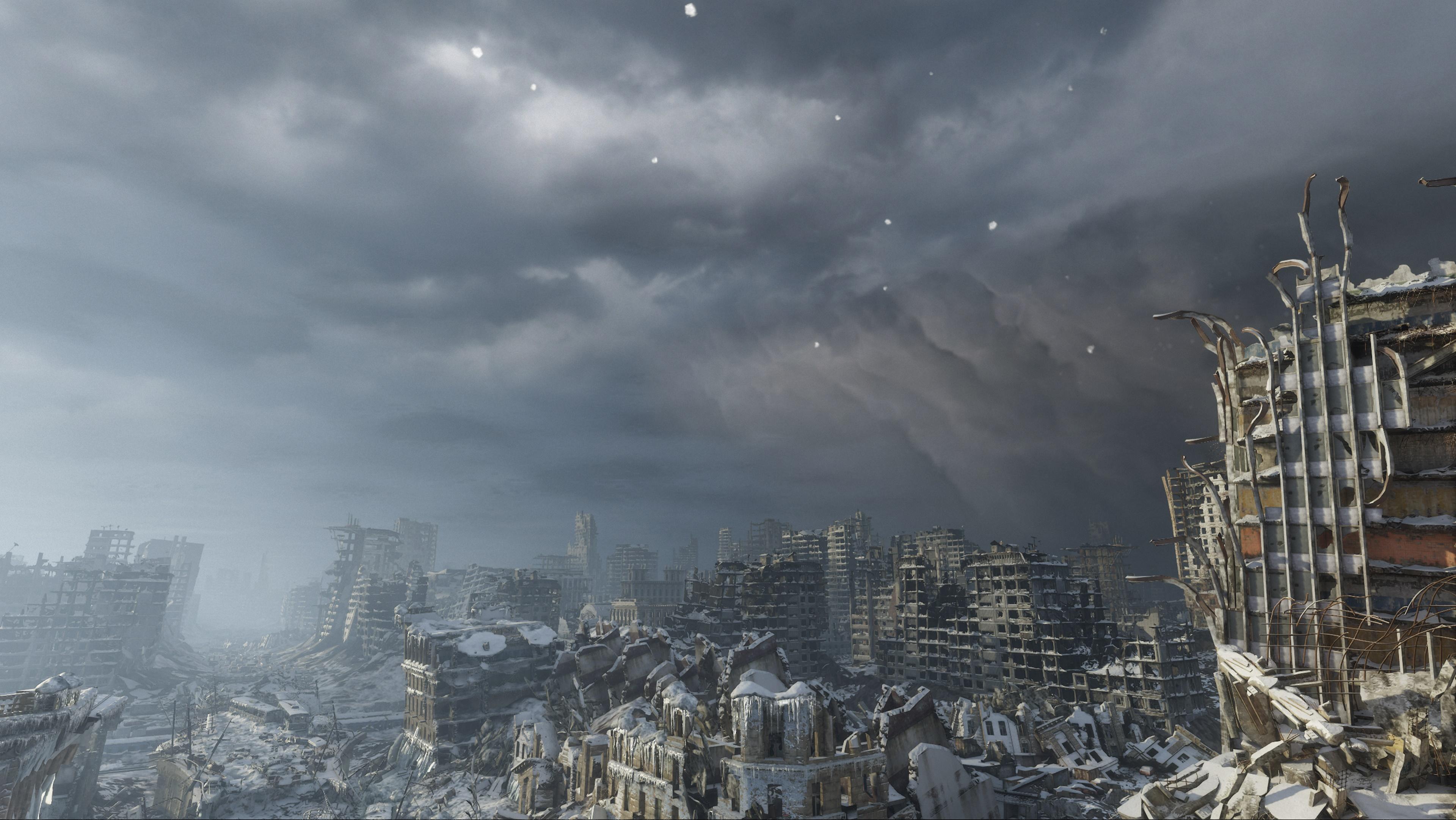 Metro Exodus скриншот с GeForce RTX 2080 - Metro Exodus