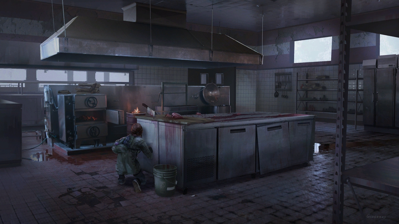 gallery1_psarc steakhouse-kitchen.jpg - Last of Us, the Арт