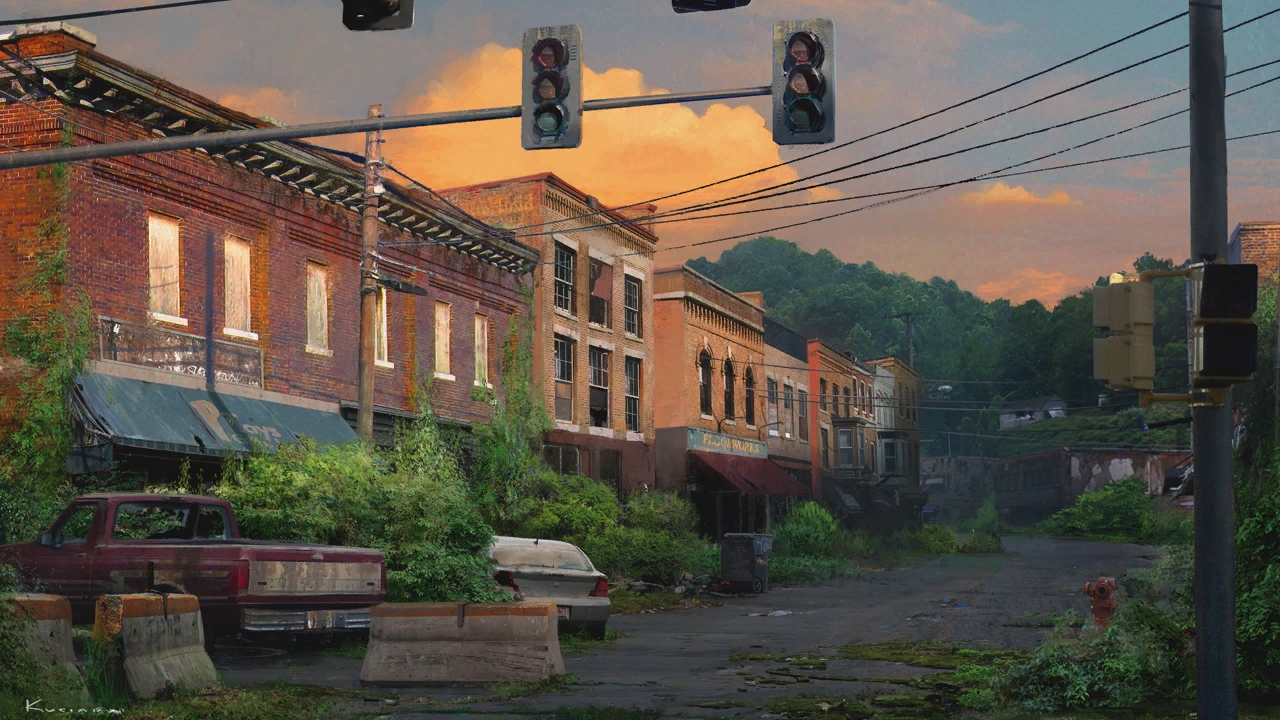 gallery1_psarc street.jpg - Last of Us, the Арт